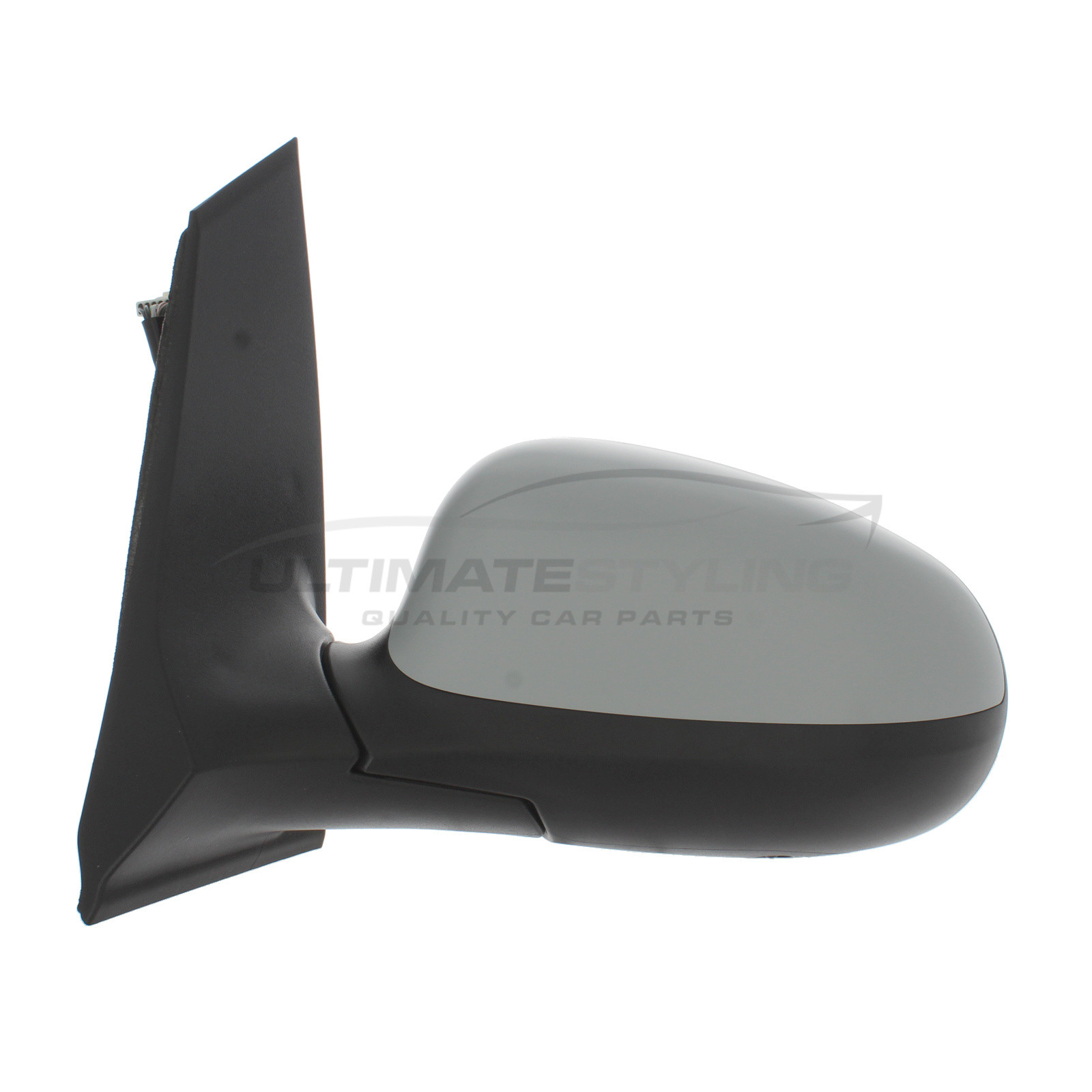 Ford Ka Wing Mirror Door Mirror Passenger Side Lh Electric Adjustment Heated Glass Primed