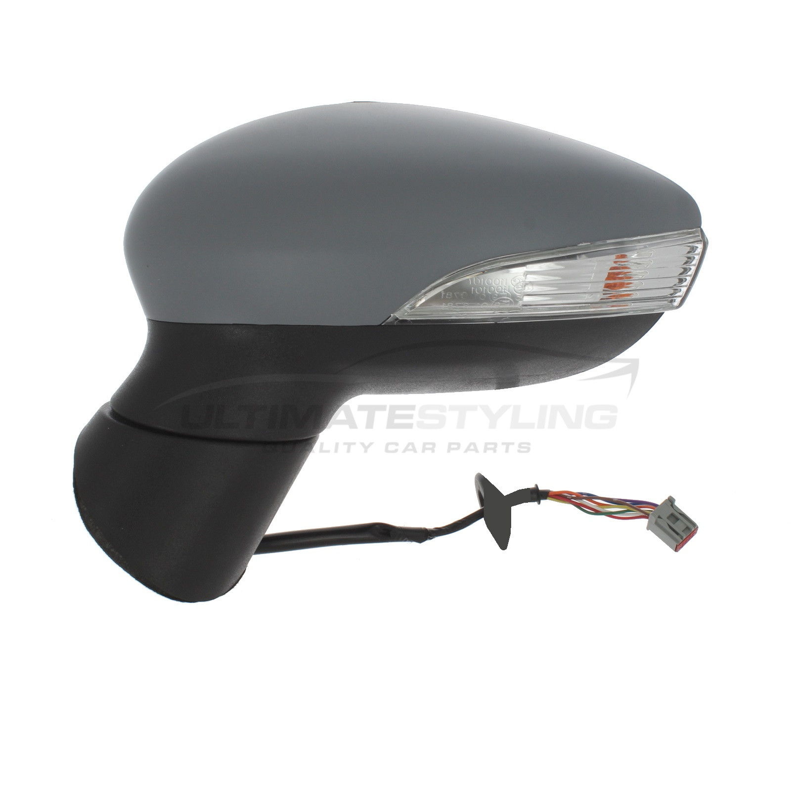 FIESTA 2008-2011 ELECTRIC DOOR WING MIRROR RH RIGHT O//S DRIVER SIDE