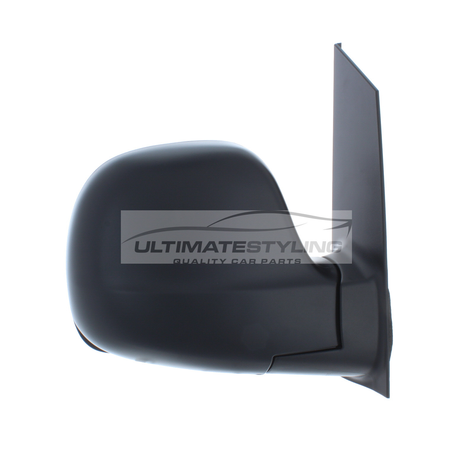 Left Hand Side LH Ultimate Styling Aftermarket Replacement Wing Mirror Cover Cap Colour Of Cover Black Textured For Passenger Side