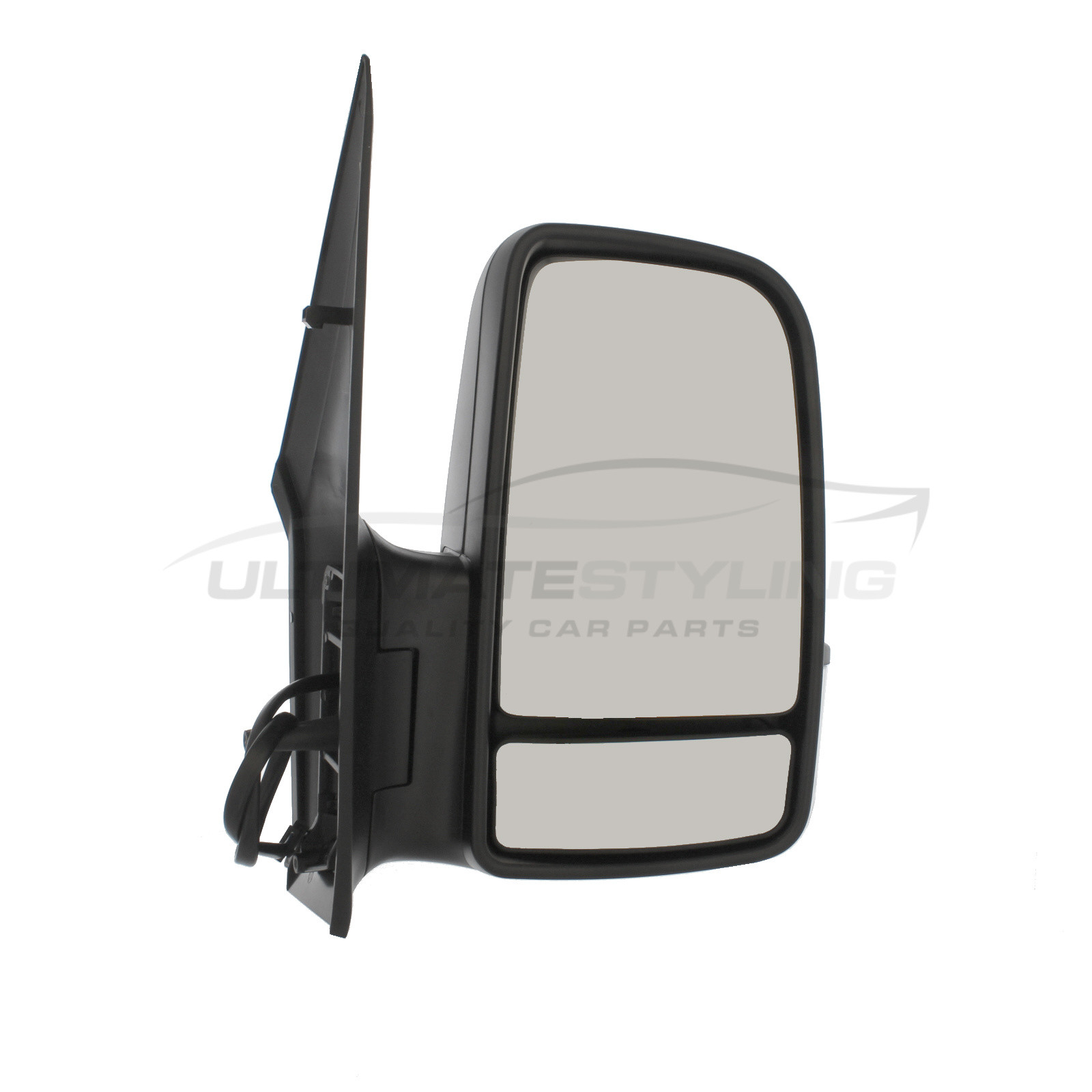 Mercedes Sprinter 2013 Door Mirror Cover Black LH Left Passengers Nearside