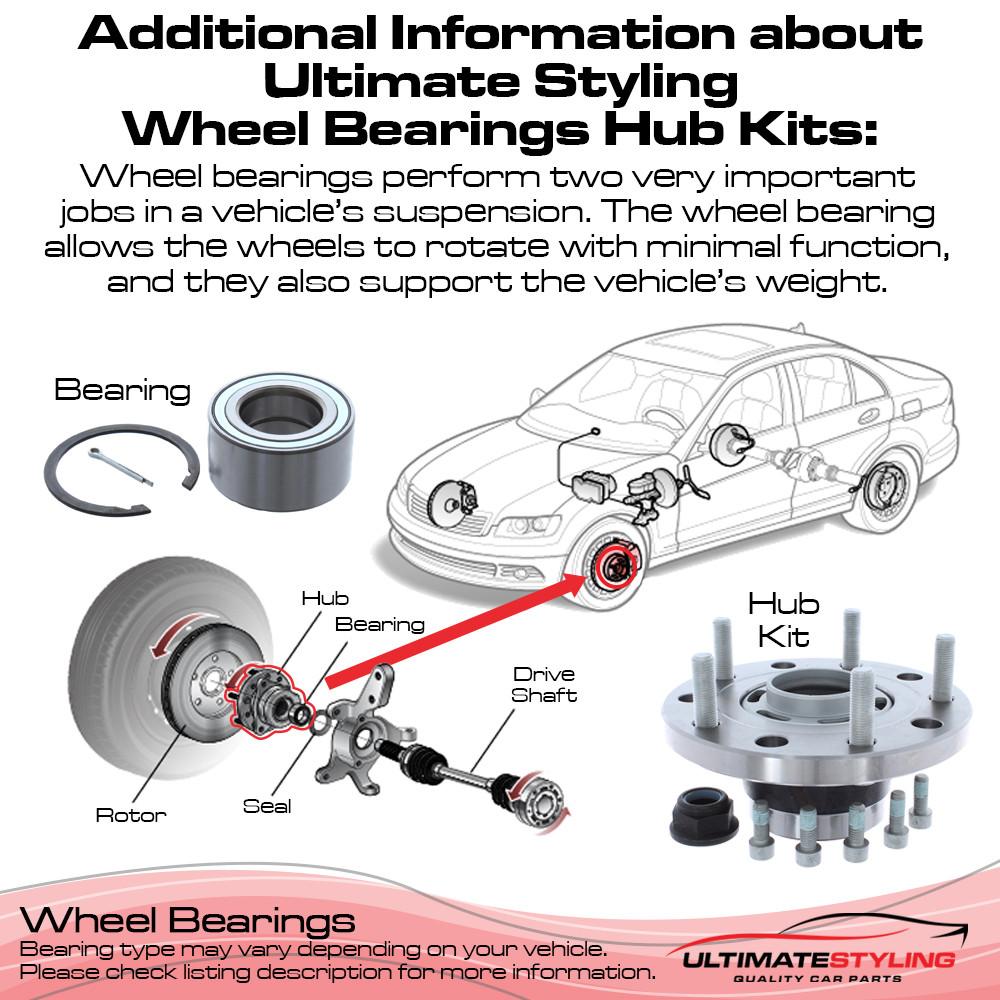Alfa Romeo Giulietta Hub Bearing Kit - Front