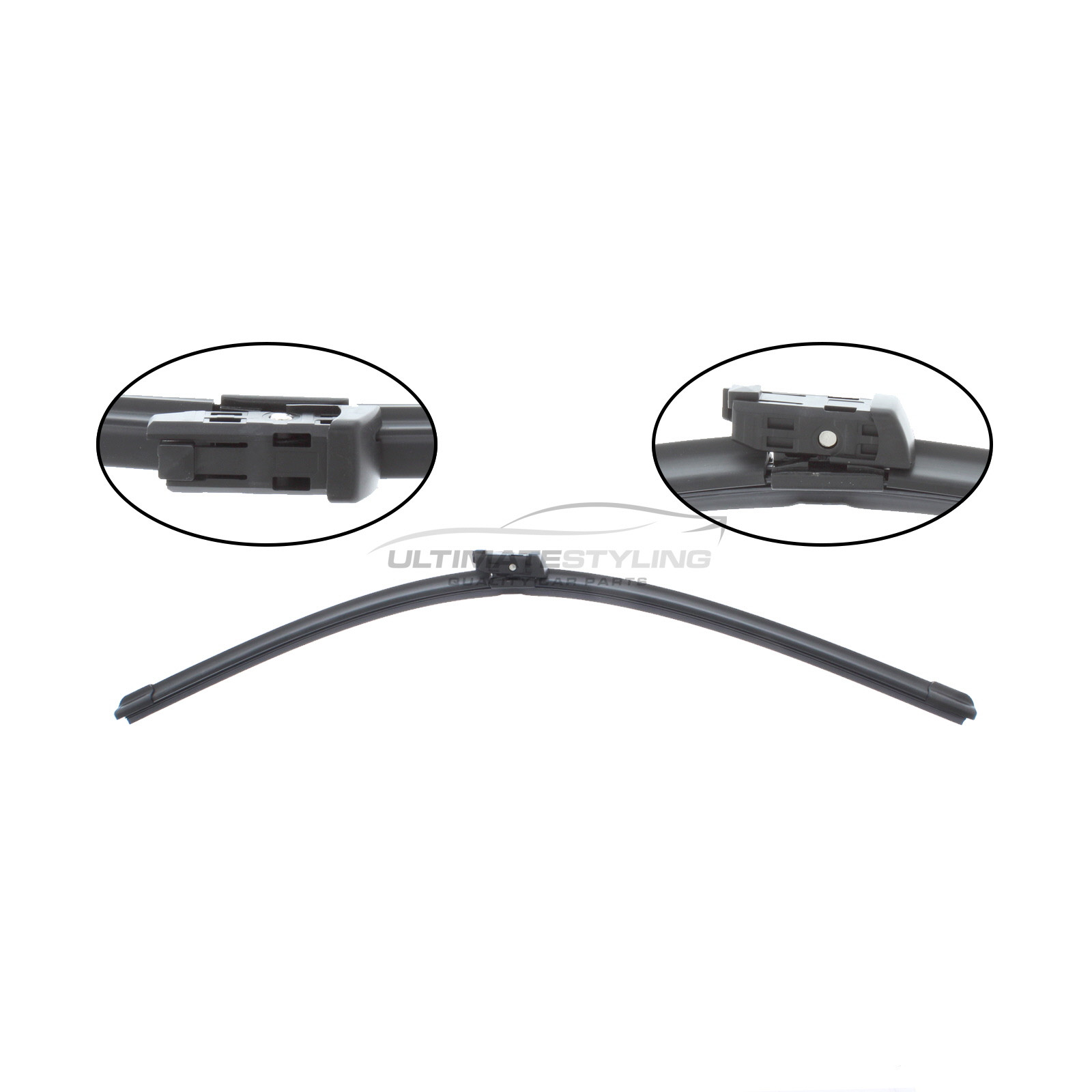 Wiper Blade - Exact Fit Aero Blade - 60 cm - 24 inch - Multi Fitment