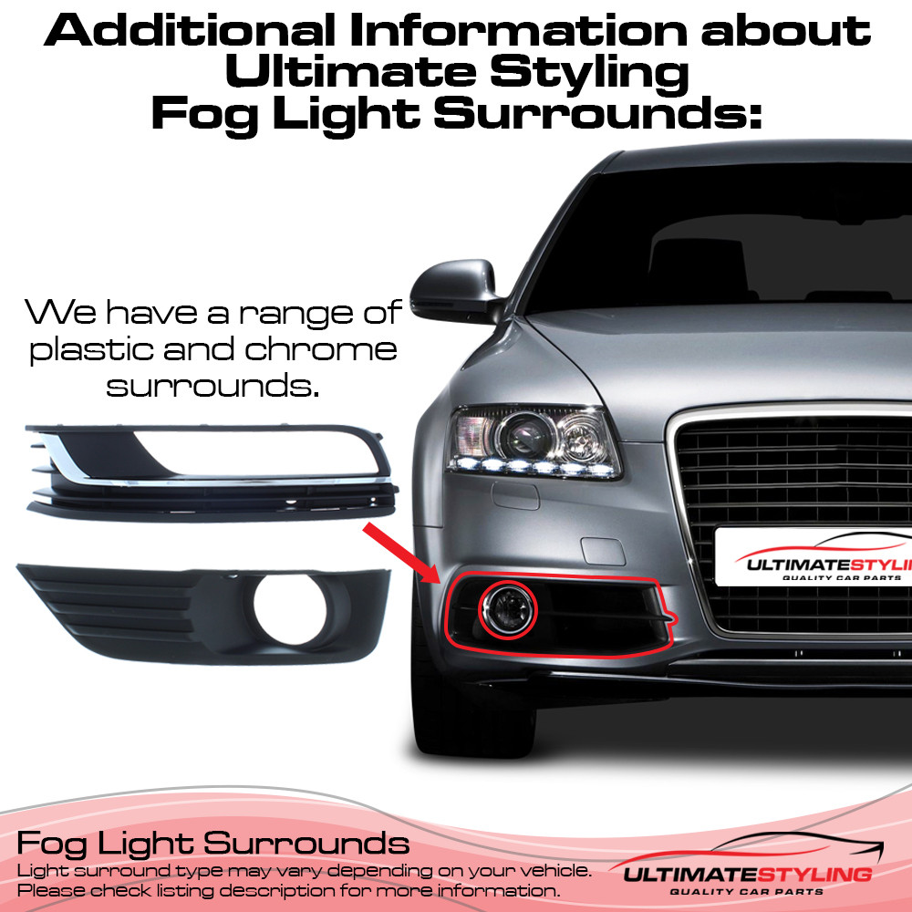 Front Fog Light Surround for Audi A4