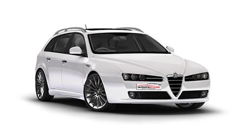 Alfa Romeo 159 1.9 JTDm 150 Qtronic (150bhp) Diesel 16v FWD (1910cc) 939 (2006-2012) Estate
