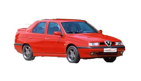 Alfa Romeo 155 2.5 (163bhp) Petrol (12v) FWD (2492cc) - 167 (1995-1996) Saloon