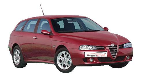 Alfa Romeo 156 2.0 Selespeed (165bhp) Petrol (16v) FWD (1970cc) - 932 (2002-2006) Estate