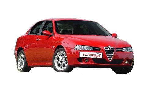 Alfa Romeo 156 2.5 (190bhp) Petrol (24v) FWD (2492cc) - 932 (1998-2003) Saloon