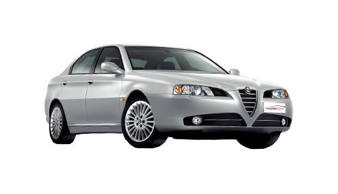 Alfa Romeo 166 2.5 (190bhp) Petrol (24v) FWD (2492cc) - 936 (2003-2004) Saloon