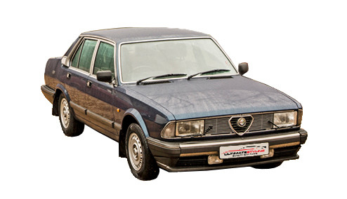 Alfa Romeo 6 2.5 Carburettor (158bhp) Petrol (12v) RWD (2492cc) - (1980-1984) Saloon