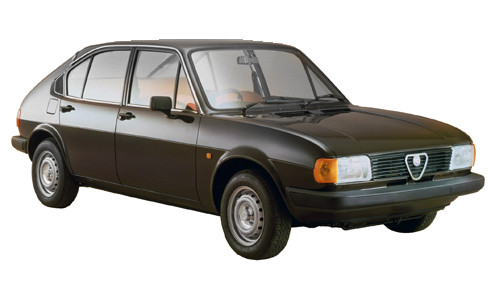 Alfa Romeo Alfasud 1.5 (95bhp) Petrol (8v) FWD (1490cc) - (1981-1983) Hatchback