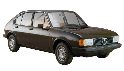 Alfa Romeo Alfasud 1.3 Ti (79bhp) Petrol (8v) FWD (1351cc) - (1980-1983) Saloon