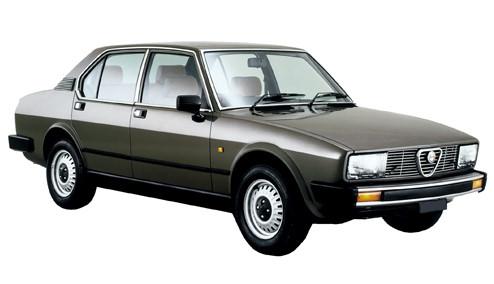 Alfa Romeo Alfetta 2.0 Gold Cloverleaf (130bhp) Petrol (8v) RWD (1962cc) - (1984-1986) Saloon
