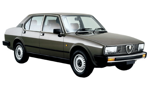 Alfa Romeo Alfetta 2.0 (130bhp) Petrol (8v) RWD (1962cc) - (1980-1983) Saloon