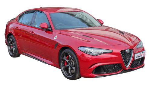Alfa Romeo Giulia 2.2 180 (177bhp) Diesel (16v) RWD (2143cc) - (2016-2018) Saloon