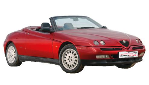 Alfa Romeo Spider 2.0 JTS (164bhp) Petrol (16v) FWD (1970cc) - 916 (2003-2004) Convertible
