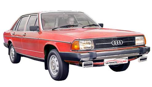 Audi 100 2.1 Injection CL-5E (136bhp) Petrol (10v) FWD (2144cc) - C2 (1980-1984) Saloon