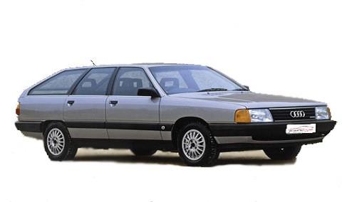 Audi 100 2.2 Avant Turbo quattro (165bhp) Petrol (10v) 4WD (2226cc) - C3 (1989-1991) Estate