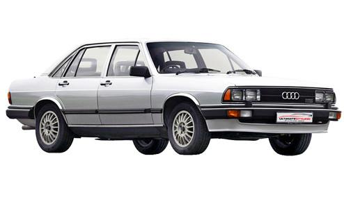 Audi 200 2.1 Turbo (170bhp) Petrol (10v) FWD (2144cc) - C2 (1980-1983) Saloon