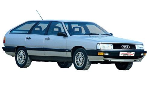 Audi 200 2.1 Avant Turbo quattro (182bhp) Petrol (10v) 4WD (2144cc) - C3 (1985-1987) Estate