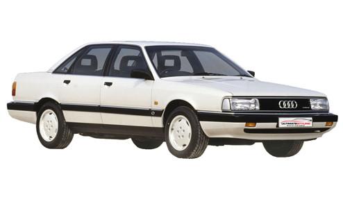 Audi 200 2.1 Turbo (182bhp) Petrol (10v) FWD (2144cc) - C3 (1984-1987) Saloon