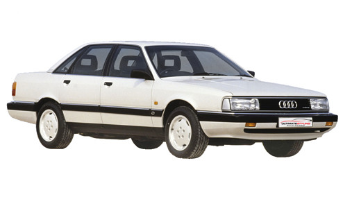 Audi 200 2.2 Turbo (188bhp) Petrol (10v) FWD (2226cc) - C3 (1984-1989) Saloon