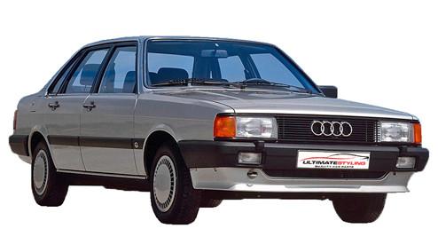 Audi 80 1.6 (75bhp) Petrol (8v) FWD (1595cc) - B2 (1983-1986) Saloon