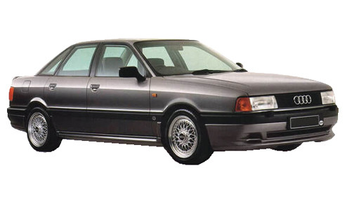 Audi 80 1.6 (75bhp) Petrol (8v) FWD (1595cc) - B3 (1986-1987) Saloon