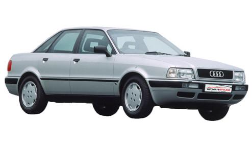 Audi 80 2.0 quattro (140bhp) Petrol (16v) 4WD (1984cc) - B4 (1991-1992) Saloon
