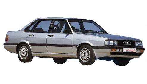 Audi 90 2.0 (115bhp) Petrol (10v) FWD (1994cc) - B2 (1984-1986) Saloon