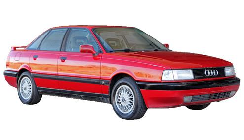 Audi 90 2.2 quattro (136bhp) Petrol (10v) 4WD (2226cc) - B3 (1987-1989) Saloon