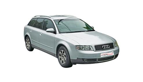 Audi A4 1.6 Avant (101bhp) Petrol (8v) FWD (1595cc) - B6 (8E) (2001-2004) Estate