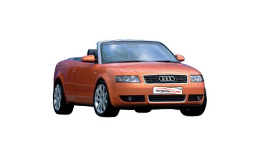 Audi A4 1.8 (163bhp) Petrol (20v) FWD (1781cc) - B6 (8H) (2002-2006) Convertible