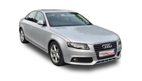 Audi A4 2.0 TFSI 211 (208bhp) Petrol (16v) FWD (1984cc) - B8 (8K) (2008-2012) Saloon