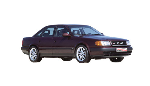 Audi A6 2.6 (150bhp) Petrol (12v) FWD (2598cc) - C4 (4A) (1994-1997) Saloon