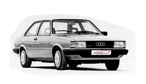 Audi Coupe 1.8 Carburettor (90bhp) Petrol (8v) FWD (1781cc) - B2 (1984-1986) Coupe