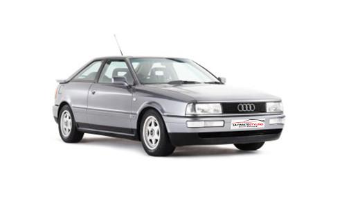 Audi Coupe 2.8 (174bhp) Petrol (12v) FWD (2771cc) - B4 (1991-1992) Coupe