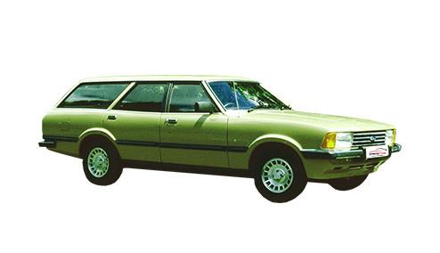 Ford Cortina 1.6 Ghia (89bhp) Petrol (8v) RWD (1593cc) - MK 5 (1980-1982) Estate