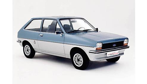 Ford Fiesta 1.3 (69bhp) Petrol (8v) FWD (1298cc) - MK 1 (1980-1983) Hatchback