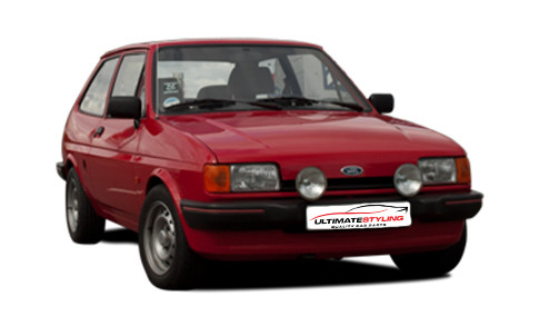 Ford Fiesta 1.3 (69bhp) Petrol (8v) FWD (1298cc) - MK 2 (1984-1986) Hatchback