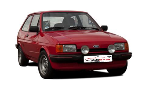 Ford Fiesta 1.6 (54bhp) Diesel (8v) FWD (1608cc) - MK 2 (1984-1989) Hatchback