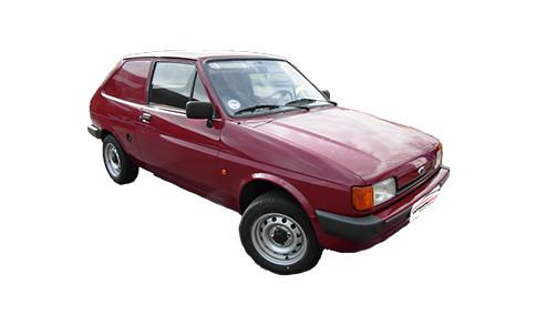 Ford Fiesta 1.6 (54bhp) Diesel (8v) FWD (1608cc) - MK 2 (1985-1989) Van