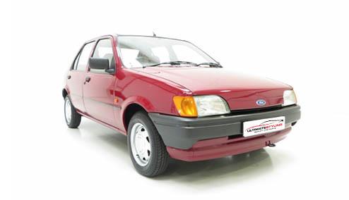 Ford Fiesta 1.4 CFi (70bhp) Petrol (8v) FWD (1392cc) - MK 3 (1990-1992) Hatchback