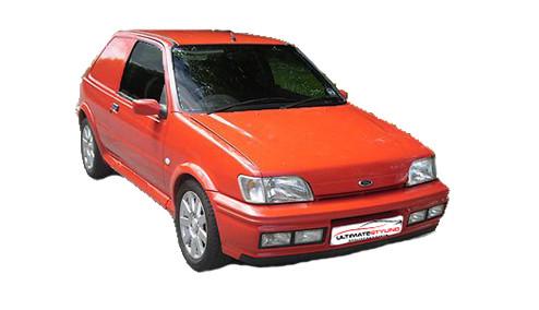 Ford Fiesta 1.8 (60bhp) Diesel (8v) FWD (1753cc) - MK 3 (1989-1996) Van