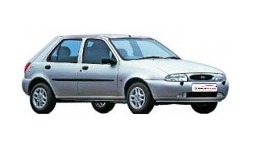 Ford Fiesta 1.8 (60bhp) Diesel (8v) FWD (1753cc) - MK 4 (1995-2000) Hatchback