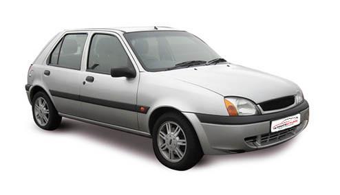 Ford Fiesta 1.8 TDdi (74bhp) Diesel (8v) FWD (1753cc) - MK 5 (2000-2002) Hatchback