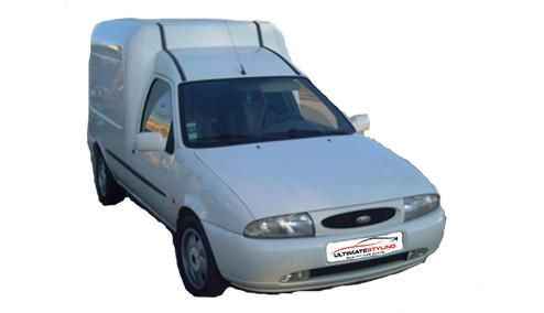 Ford Fiesta 1.8 (59bhp) Diesel (8v) FWD (1753cc) - MK 5 (1999-2000) Van