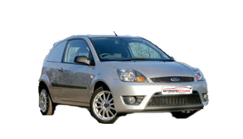 Ford Fiesta 1.6 TDCi Sportvan (89bhp) Diesel (16v) FWD (1560cc) - MK 6 (2007-2009) Van