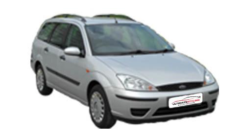 Ford Focus 1.8 TDCi 100 (99bhp) Diesel (8v) FWD (1753cc) - MK 1 (2002-2005) Estate