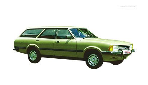 Ford Granada 2.8 (135bhp) Petrol (12v) RWD (2792cc) - MK 2 (1980-1985) Estate
