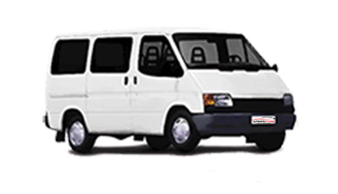 Ford Transit 2.5 Turbo (80bhp) Diesel (8v) RWD (2496cc) - MK 3 (1989-1991) Chassis Cab